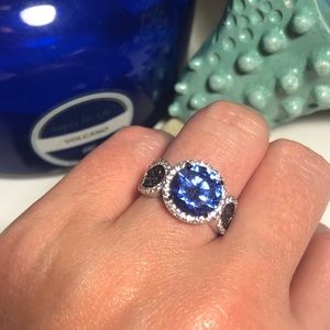 JTV Blue Sapphire Ring